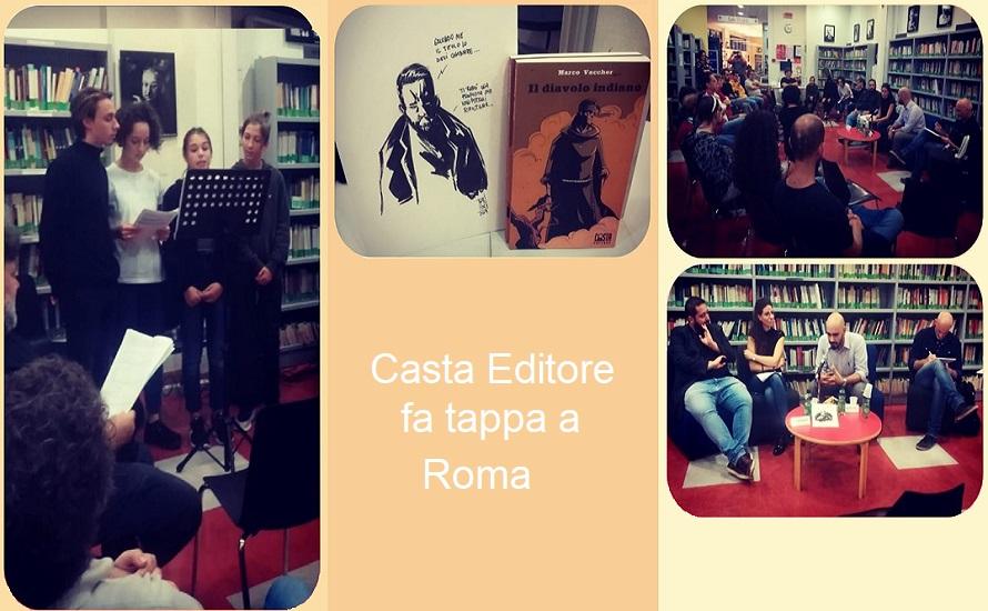 Casta Editore fa tappa a Roma (Ottobre 2019)